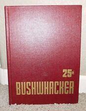 BUSHWHACKER 25th Anniversary University of Kansas Dental School Yearbook 1945