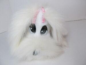 Pound Puppies Happy Waggin Pups JAKKS Pacific 2000 White Pink Electronic Dog