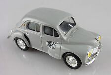 Norev 1/43e: Renault 4CV berline PTT gris sans boite