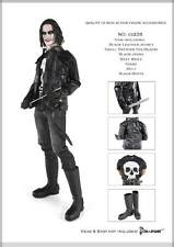 "Machete Biker Outfit Set (Black) by Dollsfigure for 12"" Action Figs DO-CC238"