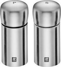 Zwilling ® spices gewürzmühle salzmühle + Pepper mill, 2 piezas set 18/10 acero inoxidable