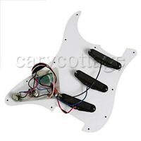 SSS Guitar Loaded Pickguard 3 Pickups for Classic Sound