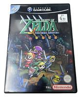 The Legend of Zelda Four Swords Adventures Nintendo Gamecube PAL *Ex Rental*