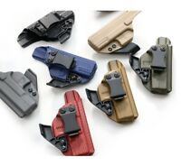 Kydex Holster for Glock 17 / 22 + optional CLAW/ WING. Features Adjustable Clip.