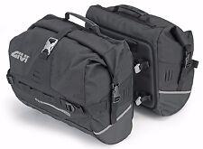 GIVI UT808 Waterproof Saddle Bags Softbags Side Bags Ultima-T Range 50 L Sidebag