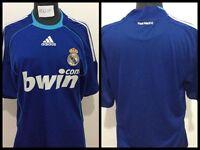 Maglia calcio real madrid adidas bwin football shirt trikot jersey vintage