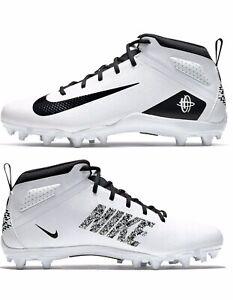 NEW Nike Alpha Huarache 7 Varsity Men's sz 8.5 Varsity White  BQ4183-108