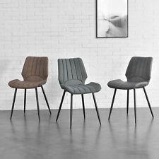 [en.casa] 2x Stühle Lehnstuhl Esszimmer-Stuhl Polsterstuhl Lounge Stuhlset Set