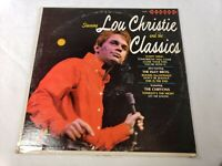 Spinorama Records Lou Christie And The Classics 33 RPM Vinyl LP Record