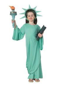Rubies Statue of Liberty US America Freedom Child Girls Halloween Costume 11259