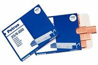 Grapas Petrus 23/6-200 - cobre 23600 caja 1000 Unid - Ref-160030