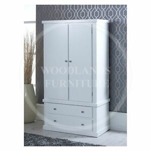 HANDMADE DEWSBURY 2 DRAWER WARDROBE , MANY COLOURS AVAILABLE (ASSEMBLED)D
