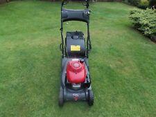 "Honda HRX426 self propelled Petrol Lawn Mower 17"" cut with metal roller"