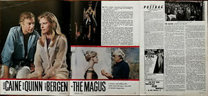 The Magus Michael Caine, Anthony Quinn, Candice Bergen Vintage Film Article 1970