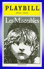 Playbill + Les Miserables + Terrence Mann , Nick Jonas , Lauren Kennedy, J. Mark