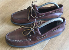 Timberland Deck Boat Leather Shoes Size Uk 8