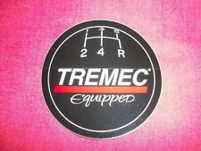 Tremec Equipped Sticker Decal NHRA Hot Rod Classic Cars