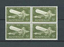 AUSTRALIE - 1964 YT 12 bloc de 4 - PA AIRMAIL - TIMBRES NEUFS** MNH LUXE