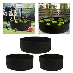 Plant Grow Bags Planter Breathable for Vegetable Holds Soil Garden Supplies