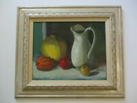 VINTAGE OIL PAINTING BY VINCENT FARRELL LISTED CALIFORNIA IMPRESSIONIST 1970'S