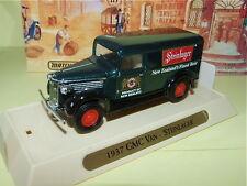 GMC VAN STEINLAGER 1937 MATCHBOX YGB08 Publicitaire