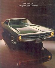 1969 Chrysler New Yorker Newport 300 Brochure 65940-LWETE1