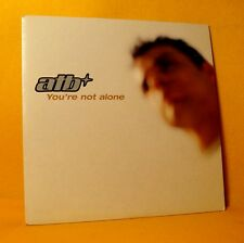 Cardsleeve single CD ATB You're Not Alone 3 TR 2002 Trance