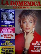 Domenica del Corriere 35 1982 Ricordo Henry Fonda. Dalila Di Lazzaro C.49