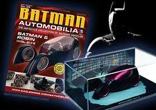 COLECCION COCHES DE METAL ESCALA 1:43 BATMAN AUTOMOBILIA Nº 35 BATMAN & ROBIN V2