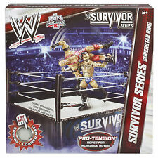 WWE SURVIVOR SERIES WRESTLING RING KMART EXCLUSIVE RETIRED SET CM PUNK RYBACK