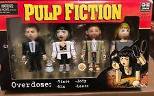 2004 NECA / Ge-Oms PULP FICTION Scene Set--Overdose: Vince, Mia, Lance, Jody NIB