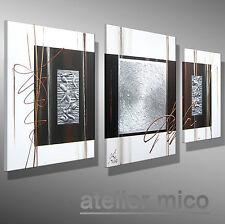 Original Acrylbild Struktur Leinwand Gemälde KUNST Bilder abstrakt malerei acryl