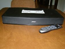 Bose Solo TV Sound System 410376 with Programmed Logitech Harmony 650 Remote
