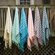 "Pashmina Peshtemal 100% Turkish Cotton Beach Yoga Spa Bath Towel Shawl 36"" X 72"""