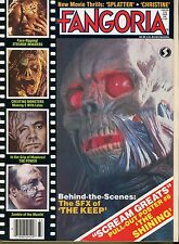 Fangoria Magazine # 33 Vol 3 1984 Scream Greats Poster #8 The Shining