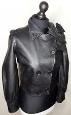 Armani Exchange 100% leather look ladies jacket Size S