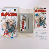 Go Go Ackman Nintendo Super Famicom SFC SNES Japan Game Very Good Condition!