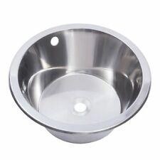 Franke 380mm diameter round inset hand wash basin / sink 203.0000.050 D20142N