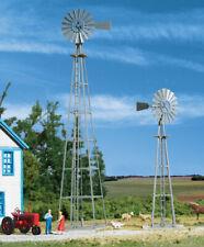 Walthers Cornerstone HO Scale Building/Structure Kit Van Dyke Farm Windmill 2-Pk