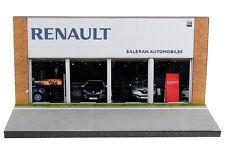Diorama présentoir Renault Saleran Automobiles - 1/87ème (HO) - #HO-2-O-O-004