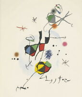 Joan Miro ELS Castellers Giclee Canvas Print Paintings Poster Reproduction