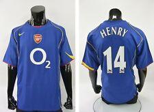 2004-06 GUNNERS Nike Arsenal FC London Away Football Shirt HENRY 14 SIZE XL Mens