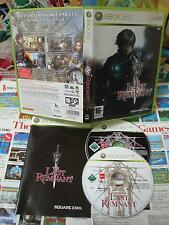 Xbox 360:The Last Remnant [TOP SQUARE ENIX & 1ERE EDITION] COMPLET - Fr