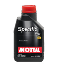 MOTUL OLIO SPECIFIC 0720 5W-30 LUBRIFICANTI MOTORE RENAULT RN0720 SINTETICO 1 LT