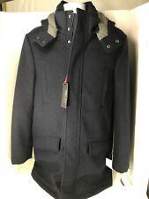 Tommy Hilfiger NWT Mens Size 38 Indigo Blue All Weather Showdown Full Zip Jacket