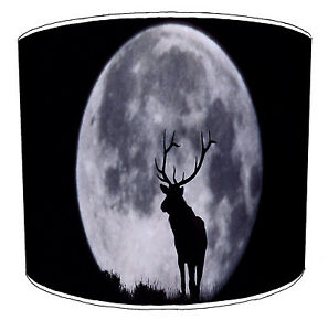 Lampshades Ideal To Match Stag Cushions Deer Wall Decals Stickers Stag Wallpaper