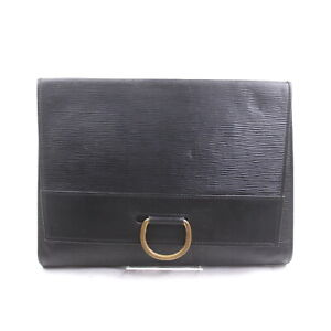 Louis Vuitton LV Clutch Bag M52712 Iena Black Epi 2206718