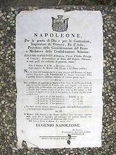 K182-PERIODO NAPOLEONICO-MONETE CONVERSIONE TORNESI-FRANCHI