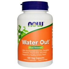 Water Out, Fluid Balance, 100 Veggie Caps - Now Foods