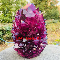 Purple Alunite crystallization crystal cluster specimen point obelisk 1pc